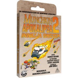 Munchkin Apokalipsa 2 - Inwazja Owcych. Dodatek do Gry Karcianej