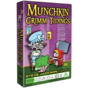 Munchkin Grimm. Gra Karciana