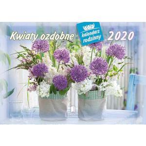 WL02 Kalendarz rodzinny 2020. Kwiaty ozdobne