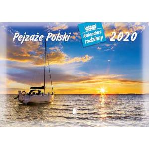 WL03 Kalendarz rodzinny 2020. Pejzaże Polski