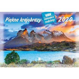 WL04 Kalendarz rodzinny 2020. Piękne krajobrazy