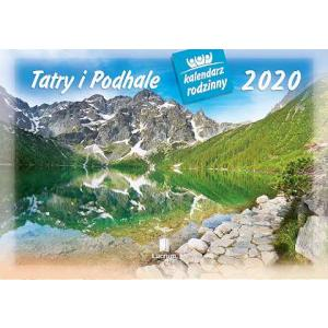 WL05 Kalendarz rodzinny 2020. Tatry i Podhale