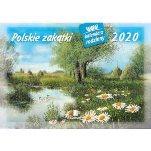 WL07 Kalendarz rodzinny 2020. Polskie zakątki