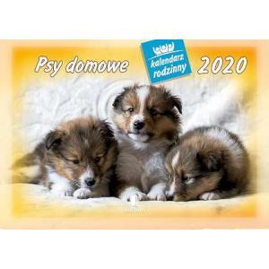 WL08 Kalendarz rodzinny 2020. Psy domowe