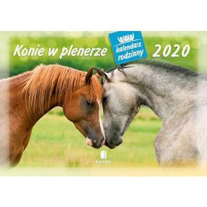 WL10 Kalendarz rodzinny 2020. Konie w plenerze
