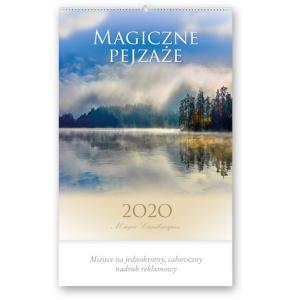 RA02 Kalendarz artystyczny 2020. Magiczne pejzaże