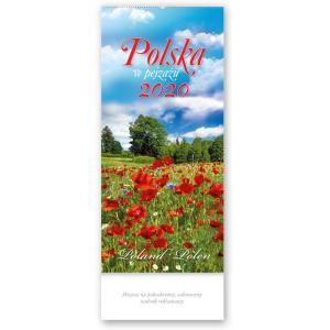 TW01 Kalendarz trójdzielny wieloplanszowy 2020 Polska w pejzażu