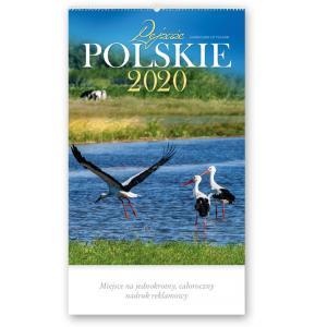 RW01 Kalendarz reklamowy 2020. Pejzaże polskie