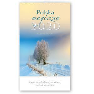 RW02 Kalendarz reklamowy 2020. Polska magiczna