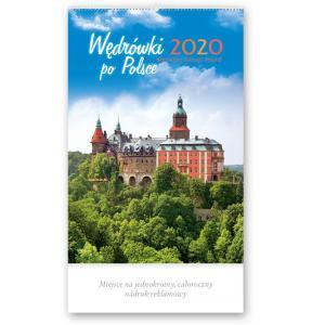RW03 Kalendarz reklamowy 2020. Wędrówki po Polsce