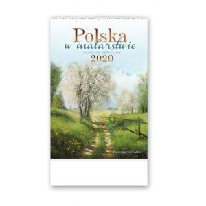 RW11 Kalendarz reklamowy 2020 Polska w malarstwie