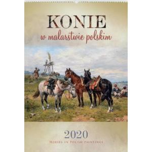 RW12 Kalendarz reklamowy 2020 Konie w malarstwie polskim