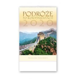 RW15 Kalendarz reklamowy 2020 Podróże po kontynentach