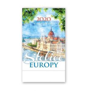 RW16 Kalendarz reklamowy 2020 Stolice Europy