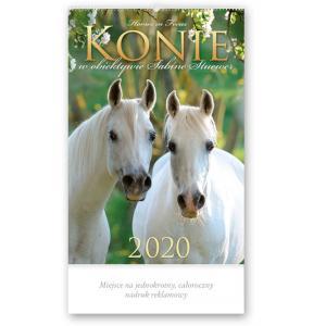 RW25 Kalendarz reklamowy 2020. Konie w obiektywie