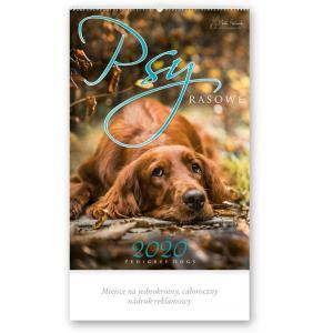 RW26 Kalendarz reklamowy 2020. Psy rasowe