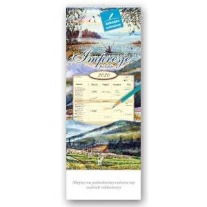 WN01 Kalendarz notatnikowy 2020 Impresje polskie