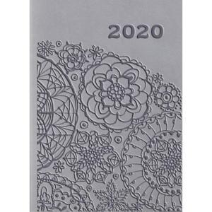 01T-08 Kalendarz 2020 Kieszonkowy 2-tygodniowy A7 VIVELLA Szary