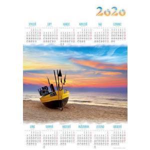 PL01 Kalendarz plakatowy 2020 Plaża