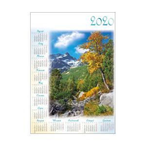 PL02 Kalendarz plakatowy 2020 Tatry