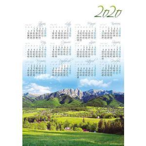 PL03 Kalendarz plakatowy 2020 Podhale