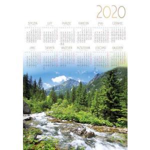 PL05 Kalendarz plakatowy 2020 Szczyt