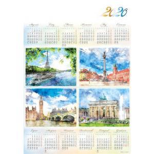 PL10 Kalendarz plakatowy 2020 Stolice