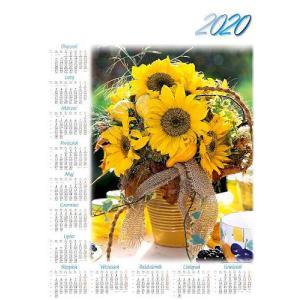 PL16 Kalendarz plakatowy 2020 Słoeneczniki