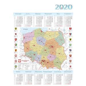 PL17 Kalendarz plakatowy 2020 Polska