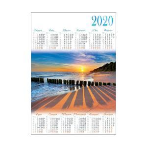 PL25 Kalendarz plakatowy 2020 Bałtyk