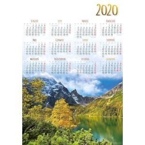 PL26 Kalendarz plakatowy 2020 Morskie Oko