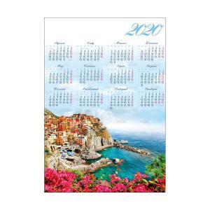 PL29 Kalendarz plakatowy 2020 Zatoka