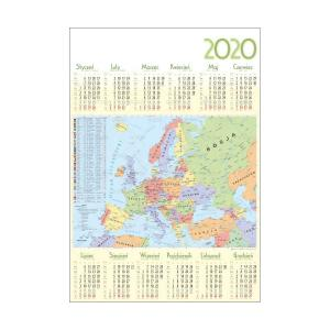 PL33 Kalendarz plakatowy 2020 Europa