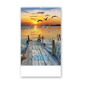 RE02 Kalendarz reklamowy 2020 Blaski słońca