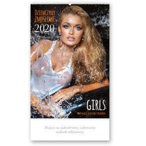 RE03 Kalendarz reklamowy 2020 Dziewczyny zmysłowe