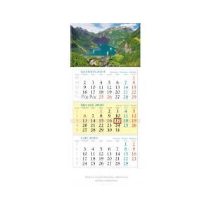KT12 Kalendarz trójdzielny 2020 Fiord