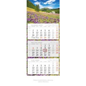 KE01 Kalendarz trójdzielny 2020 Hala