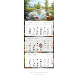 KE03 Kalendarz trójdzielny 2020 Plener