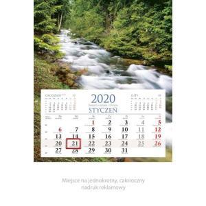 KM02 Kalendarz jednodzielny 2020 Strumień