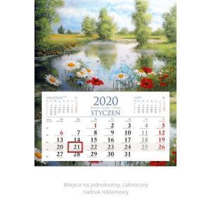 KM03 Kalendarz jednodzielny 2020 Widok