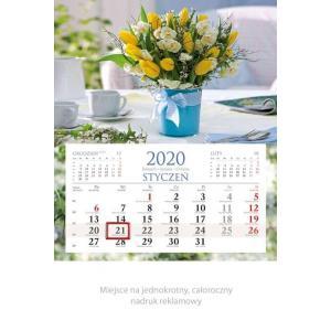 KM04 Kalendarz jednodzielny 2020 Wiązanka