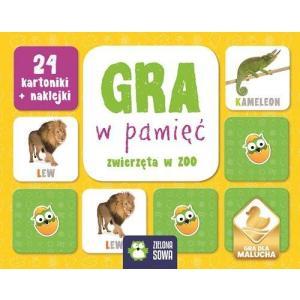 Rosnę i poznaję Gra w pamięć Zwierzęta w Zoo