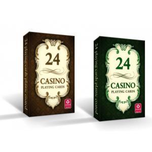Casino karty do gry 24 listki