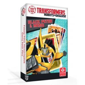 Czarny Piotruś/Memo - Transformers. Karty do Gry