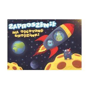 Zaproszenie ZZ-027 Urodziny Kosmos