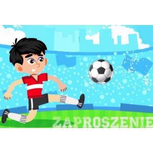 Zaproszenie ZZ-063 Chłopiec, piłka
