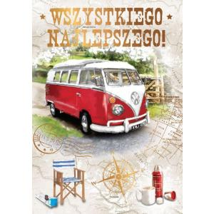 Karnet DK-574 Wszystkiego najlepszego (autobus)