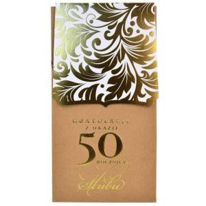 Karnet Gratulacje z okazji 50 rocznicy ślubu PM-115