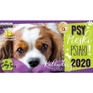 Kalendarz pocztówkowy Psy