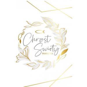 Karnet PR-179 Chrzest (złoty wianek) 2019